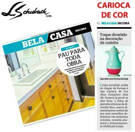 CARIOCA DE COR no caderno BELA CASA DECORA, do jornal Extra, em 28 de maio de 2018
