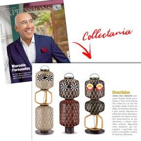 COLLECTANIA na revista EXPRESSIONS de maio de 2018