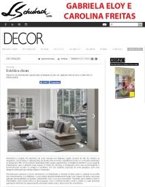 GABRIELA ELOY E CAROLINA FREITAS no site da revista DECOR em 29 de maio de 2018