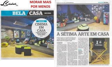 MORAR MAIS POR MENOS no caderno BELA CASA, do jornal EXTRA, em 20 de maio de 2018