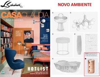 NOVO AMBIENTE na revista CASA CLAUDIA de MAIO de 2018
