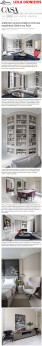 Projeto da arquiteta LEILA DIONIZIOS no site da Casa Vogue em 21 de maio de 2018