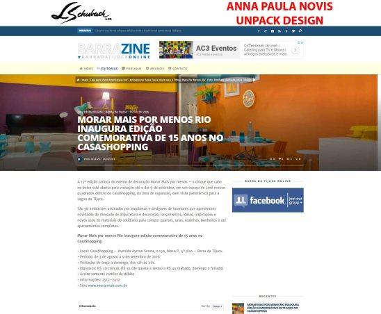 ANNA PAULA NOVIS no site BARRAZINE em 21 de agosto de 2018