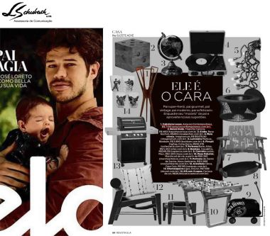 ARQUIVO CONTEMPORÂNEO na revista Ela do jornal O Globo em 5 de agosto de 2018