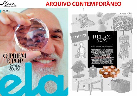 ARQUIVO CONTEMPORÂNEO na REVISTA ELA em 1 de julho de 2018