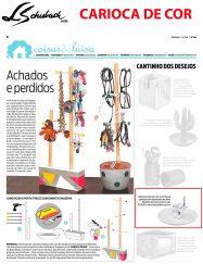 CARIOCA DE COR no caderno Casa, do jornal O Dia, em 03 de junho de 2018