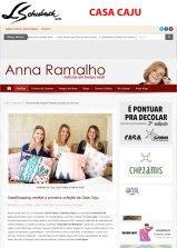 CASA CAJU no site ANNA RAMALHO em 28 de julho de 2018