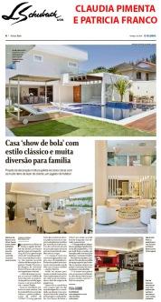 CLAUDIA PIMENTA e PATRICIA FRANCO no caderno MORAR BEM do Jornal O Globo, de 12 de agosto de 2018