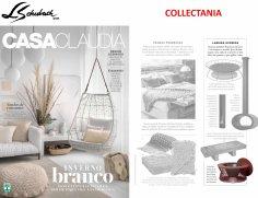 COLLECTANIA na revista CASA CLAUDIA em julho de 2018 - firepit