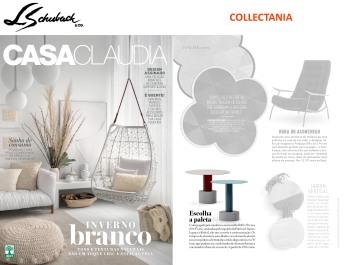 COLLECTANIA na revista CASA CLAUDIA em julho de 2018 - roll