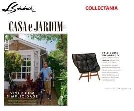 COLLECTANIA na revista CASA E JARDIM em agosto de 2018