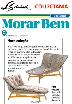 COLLECTANIA no caderno MORAR BEM, do jornal O GLOBO, em 01 de julho de 2018