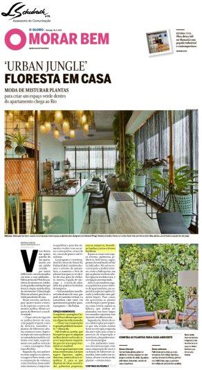 Depoimento da paisagista CARMEN MOURO no caderno Morar Bem do jornal O Globo em 26 de agosto de 2018_2