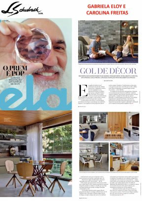 GABRIELA ELOY E CAROLINA FREITAS na Revista ELA, em 01 de julho de 2018