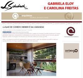 GABRIELA ELOY E CAROLINA FREITAS no site AS ARQUITETAS em 31 de agosto de 2018