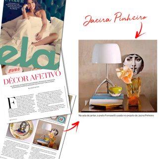 JACIRA PINHEIRO na REVISTA ELA de 8 de junho de 2018