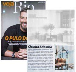 JACIRA PINHEIRO na revista VEJA RIO de 14 de julho de 2018