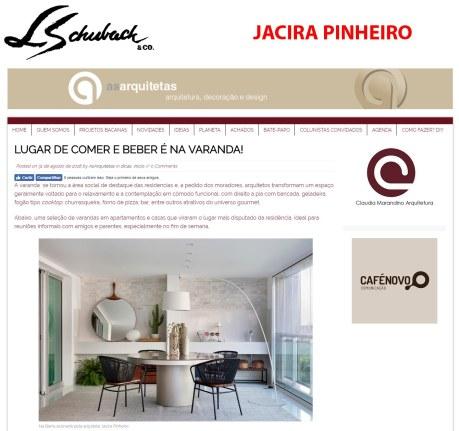 JACIRA PINHEIRO no site AS ARQUITETAS em 31 de agosto de 2018