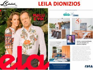 LEILA DIONIZIOS na revista Ela do jornal O Globo em 10 de junho de 2018