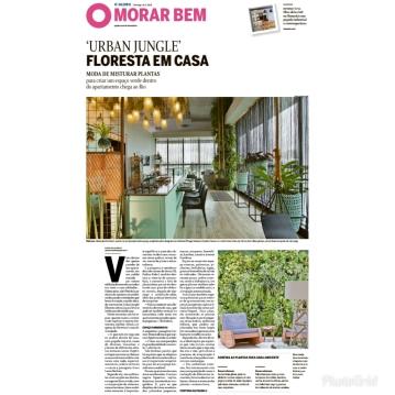MORAR MAIS POR MENOS no caderno MORAR BEM, do jornal O GLOBO, em 26 de agosto de 2018