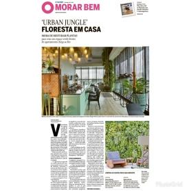 MORAR MAIS POR MENOS no caderno MORAR BEM, do jornal O GLOBO, em 27 de agosto de 2018 (1)