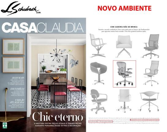 NOVO AMBIENTE na revista CASA CLAUDIA de agosto de 2018 - parte 1b