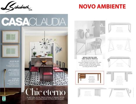 NOVO AMBIENTE na revista CASA CLAUDIA de agosto de 2018 - parte 2b
