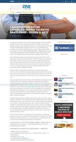 NOVOS TALENTOS BRASILEIROS no portal Barrazine em 23 de agosto de 2018