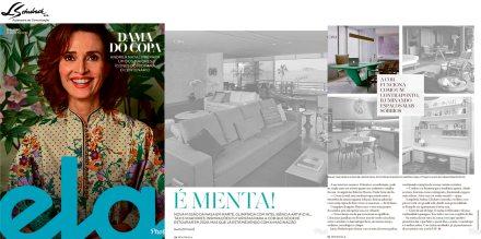 Projeto do STUDIO LEANDRO NEVES na revista Ela do jornal o Globo em 12 de agosto de 2018