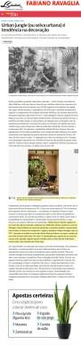 Projeto e depoimento do arquiteto FABIANO RAVAGLIA no site da revista Veja Rio em 1 de junho de 2018