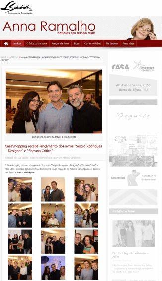 ARQUIVO CONTEMPORÂNEO na coluna digital da Anna Ramalho em 26 de setembro de 2018