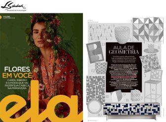 ARQUIVO CONTEMPORÂNEO na revista Ela do jornal O Globo em 2 de setembro de 2018