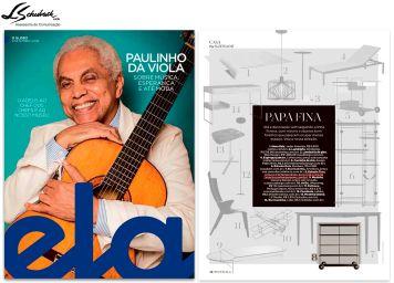 ARQUIVO CONTEMPORÂNEO na revista Ela do jornal O Globo em 9 de setembro de 2018