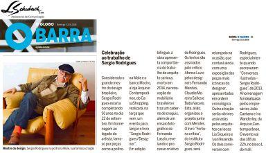 ARQUIVO CONTEMPORÂNEO no caderno Glogo Barra do jornal O Globo em 23 de setembro de 2018