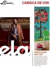 CARIOCA DE COR na revista ELA, do jornal O Globo, em 23 de setembro de 2018