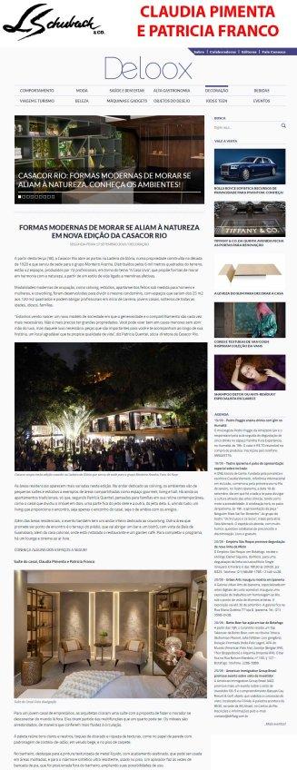 CLAUDIA PIMENTA E PATRICIA FRANCO no site Deloox em 17 de setembro de 2018