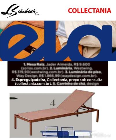 COLLECTANIA na Revista ELA, do jornal O Globo, em 09 de setembro de 2018