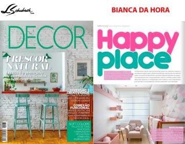 BIANCA DA HORA na revista DECOR em outubro de 2018