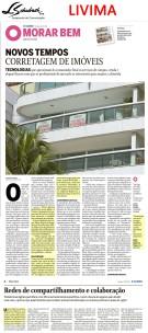 LIVIMA no caderno Morar Bem do jornal O Globo em 21 de outubro de 2018