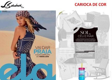 carioca de cor na revista ela, do jornal o globo, em 9 de dezembro de 2018