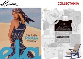 collectania na revista ela do jornal o globo de 9 dedezembro de 2018