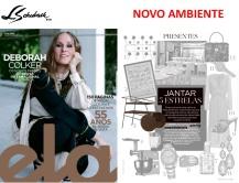 novo ambiente na revista ela, do jornal o globo, em 16 de dezembro de 2018