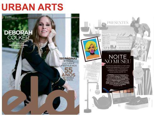 urban arts na revista ela do jornal o globo de 16 de dezembro de 2018