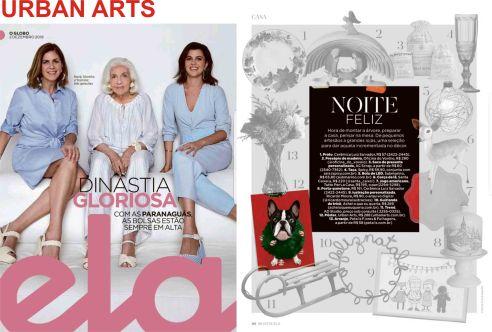 urban arts na revista ela do jornal o globo de 2 de dezembro de 2018