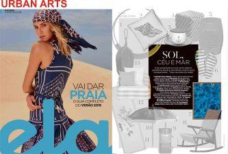 urban arts na revista ela do jornal o globo de 9 de dezembro de 2018