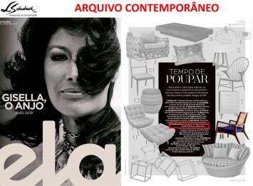 ARQUIVO CONTEMPORÂNEO na Revista Ela do jornal O Globo em 20 de janeiro de 2019