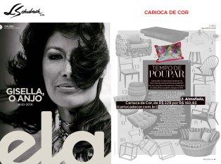 CARIOCA DE COR na revista ELA, do jornal O Globo, em 20 de janeiro de 2018