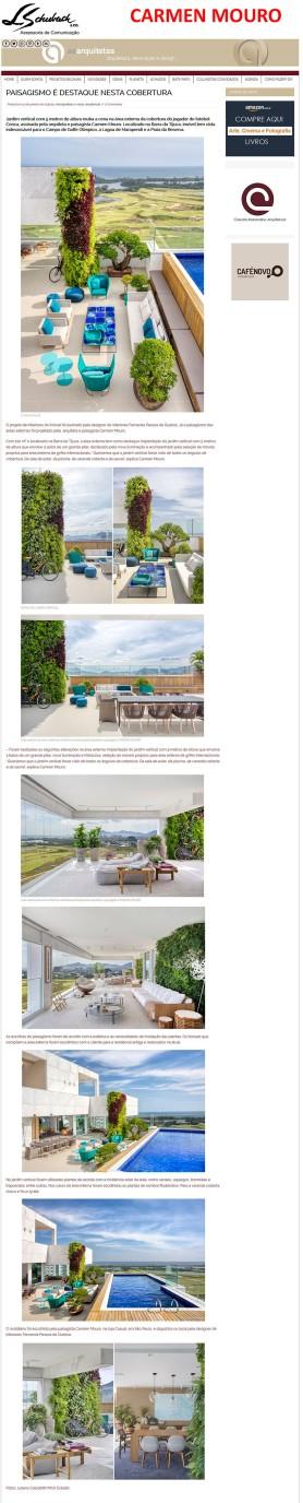 CARMEN MOURO no blog As Arquitetas em 14 de janeiro de 2019