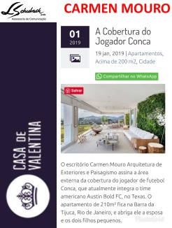 CARMEN MOURO no portal Casa de Valentina em 19 de janeiro de 2019
