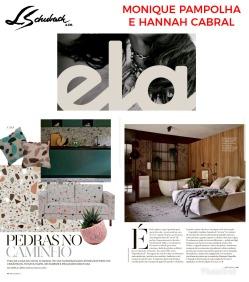MONIQUE PAMPOLHA E HANNAH CABRAL na revista ELA, do jornal O Globo, em 20 de janeiro de 2019